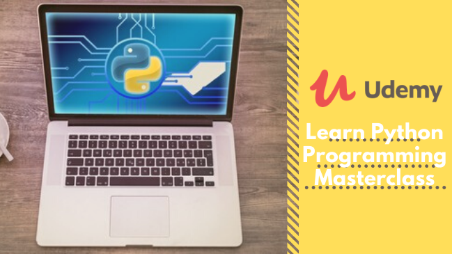 Learn Python Programming Masterclass udemy free course download