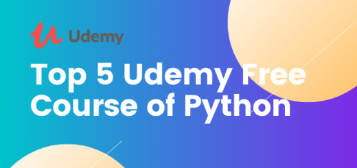 Top 5 Udemy Free Course of Python