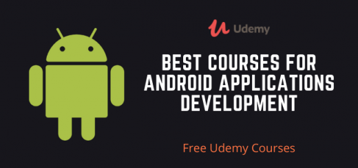 Best Courses for Android Applications Development