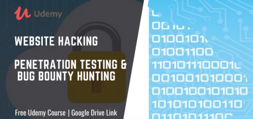Description of Website Hacking Penetration Testing & Bug Bounty Hunting