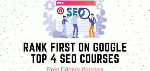 Top 4 SEO Courses to Rank First on Google