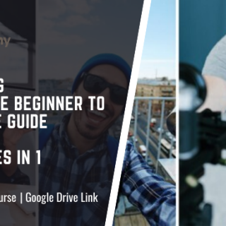 Vlogging Complete Beginner to Advance Guide 6 courses in 1