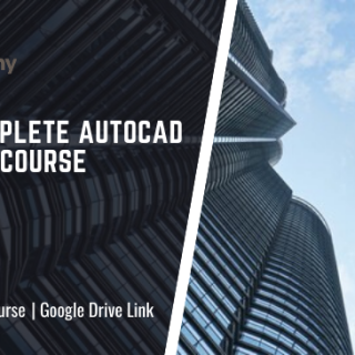 The complete AutoCAD 2018-20 course