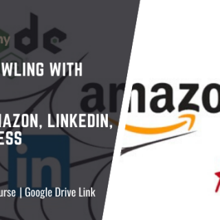 Web Crawling with Nodejs From Amazon, LinkedIn, AliExpress