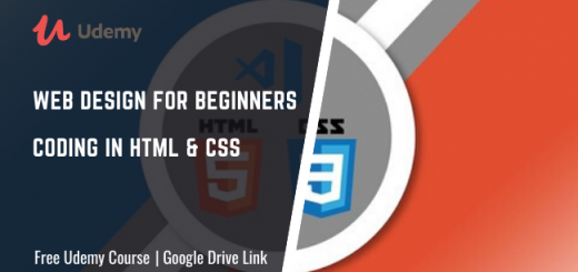 Web Design for Beginners - Coding in HTML & CSS