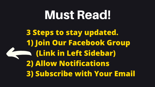 3 steps to stay updated