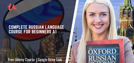 Complete Russian Language course for Beginners A1
