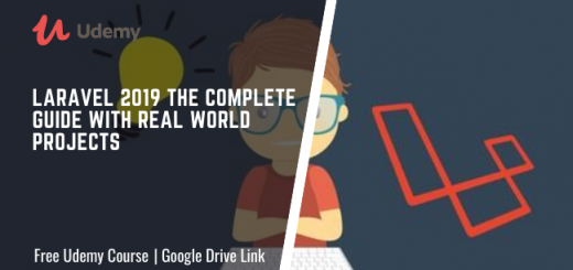 Laravel 2019 the complete guide with real world projects