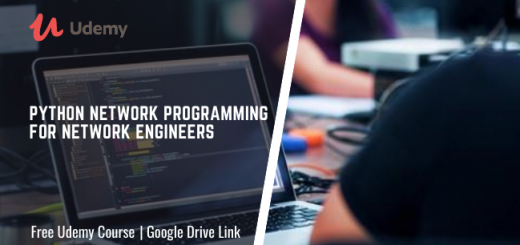Python Network Programming for Network Engineers