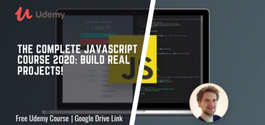 The Complete JavaScript Course 2020 Build Real Projects