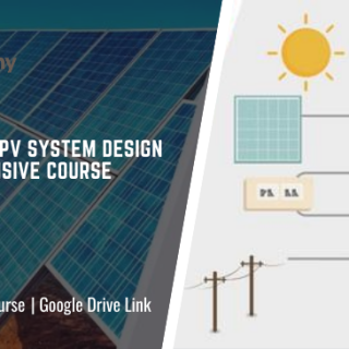 The Solar PV System Design Comprehensive Course