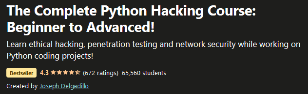 Complete Python Hacking Course