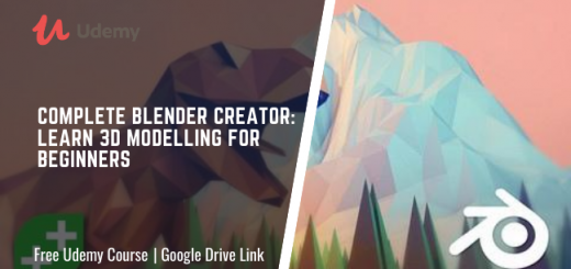 Complete Blender Creator: Learn 3D Modelling for Beginners