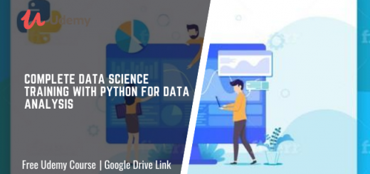Complete Data Science Training with Python for Data Analysis