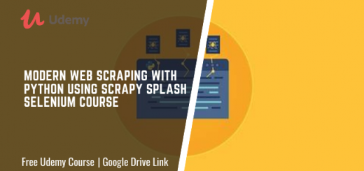Modern Web Scraping with Python using Scrapy Splash Selenium Course