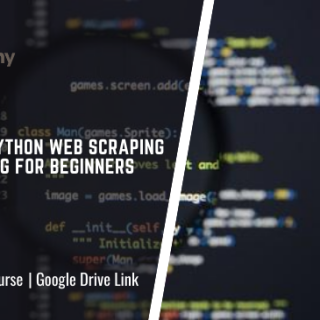 Scrapy: Python Web Scraping & Crawling for Beginners Course