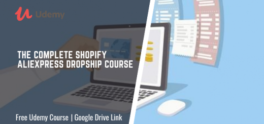 The Complete Shopify Aliexpress Dropship course