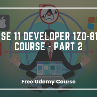 Java SE 11 Developer 1Z0-819 OCP Course - Part 2