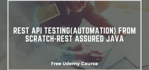 REST API Testing (Automation) from scratch-Rest Assured java